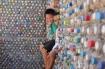 Ngôi nhà làm từ 6000 chai nhựa trên đảo Bé Lý Sơn ấn tượng mạnh với du khách
