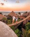 Resort trên cây ở Mexico: Có cả trăm góc sống ảo