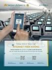 Đã có wifi phục vụ trên các chuyến bay của Vietnam Airlines