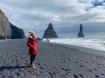 Bãi biển cát đen đẹp huyền ảo không ai được phép tắm ở Iceland