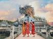 Cận cảnh vẻ đẹp bí ẩn của công viên ma bị bỏ hoang tại Huế