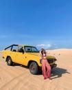 Đến Phan Thiết ngắm hoàng hôn lãng mạn nhất ở đồi cát Bàu Trắng