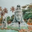 Về Phú Yên thăm chùa Thanh Lương có tượng Phật ẩn mình dưới nước độc đáo