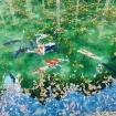 Mê mẩn khung cảnh đẹp như tranh vẽ ở hồ Namonaki, Nhật Bản