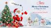 Vebay247 chúc mừng Giáng sinh và năm mới