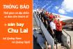 Dịch vụ xe buýt đưa đón miễn phí tại sân bay Chu Lai của Jetstar
