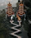 Du lịch Cao Hùng nhất định phải ghé thăm Long Hổ Tháp một lần