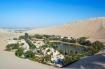 Ốc đảo hiện ra như ảo ảnh giữa sa mạc Peru