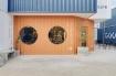 Quán cà phê container rực rỡ sắc cam ở Cần Thơ nổi bật trên báo ngoại