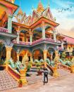 Chùa Som Rong, chùa La Hán đây là những nơi cầu bình an