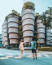 Độc nhất thế giới tòa nhà hình giỏ Dimsum nổi tiếng khắp bản đồ sống ảo Singapore, đi 1 bước chụp được 100 tấm hình!