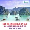 Quảng Ninh giảm 50% giá vé các điểm du lịch tại vịnh Hạ Long
